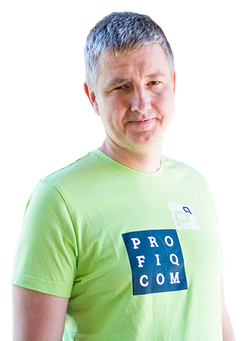 Gabor Puhalla, CEO, společnost profiq