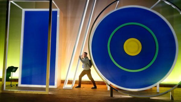 Logo Google konference I/O v USA