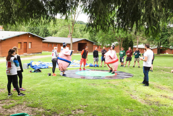 teambuilding profiq sumo zápas