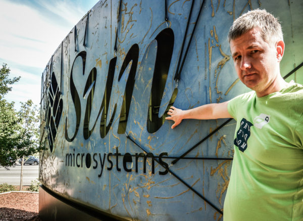 Gabor Pulhala, CEO profiq u loga Sun microsystems