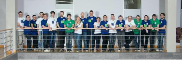 skupinová fotka týmu profiq