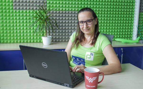 Hanka Klingová, Software Engineer v zasedačce profiq